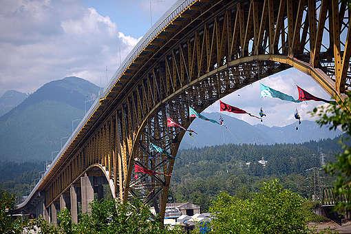 Bridge Blockade in Vancouver