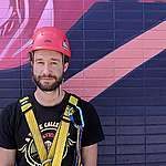 Who are the climbers of Greenpeace Canada's action on the tower of Montreal's Olympic Parc?