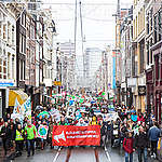 COP21: Climate March in Amsterdam. © Chantal Bekker