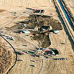 Keystone Pipeline Leak in South Dakota. © Naomi Harris