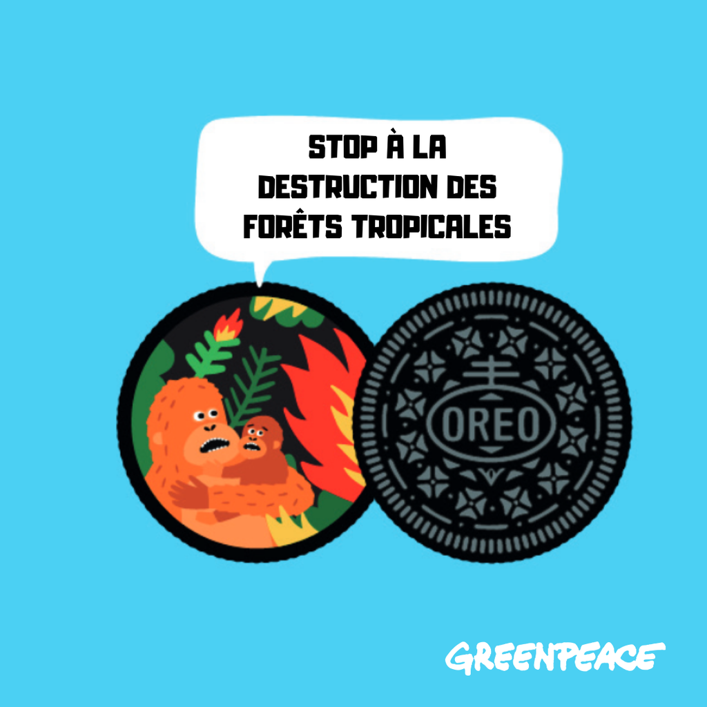 Oreo saveur deforestation