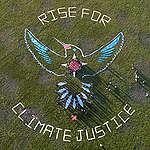 Hummingbird Rising: Human Mandala for Climate Justice in San Francisco. © Josh Edelson