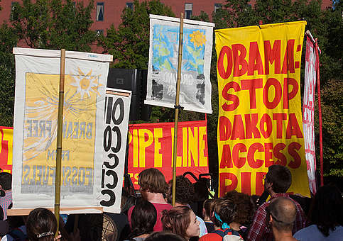 Stop Dakota Access Pipeline Rally in Washington D.C. © Robert Meyers