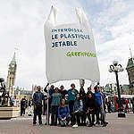 Réaction: Greenpeace appuie la demande du NPD astreignant le fédéral d'interdire les plastiques à usage unique