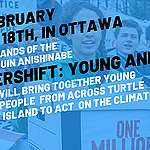Young people from across Canada descend on Ottawa for climate summit