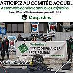 AVIS AUX MÉDIAS: Comité d'accueil à l'Assemblée annuelle générale de Desjardins