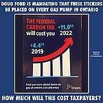 Greenpeace will challenge Ford gas pump stickers as misleading advertising