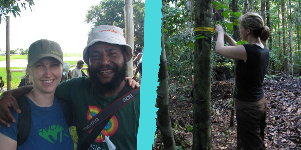 Forest Rescue Station in Papua New Guinea where we helped demarcate Indigenous traditional territories threatened by industrial resource extraction.