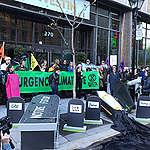 COMMUNIQUÉ: Groupes environnementaux et citoyens  enterrent l'ère des fossiles à la conférence de l'APGQ