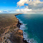 Aerial View of the Great Australian Bight. © Greenpeace / Jaimen Hudson