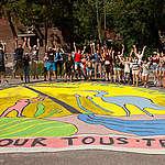 AVIS AUX MÉDIAS: Fresque artistique pour le climat à Montréal et à Vancouver