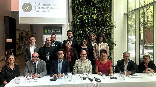 Coalition pour la réforme électorale