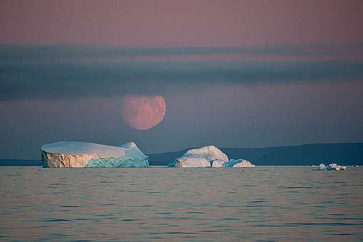 Icebergs in Baffin Bay. © Greenpeace