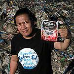 Froilan Grate in Navotas, Manila. © Greenpeace