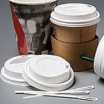 Product Shots of Disposable Cups. © Fred Dott / Greenpeace