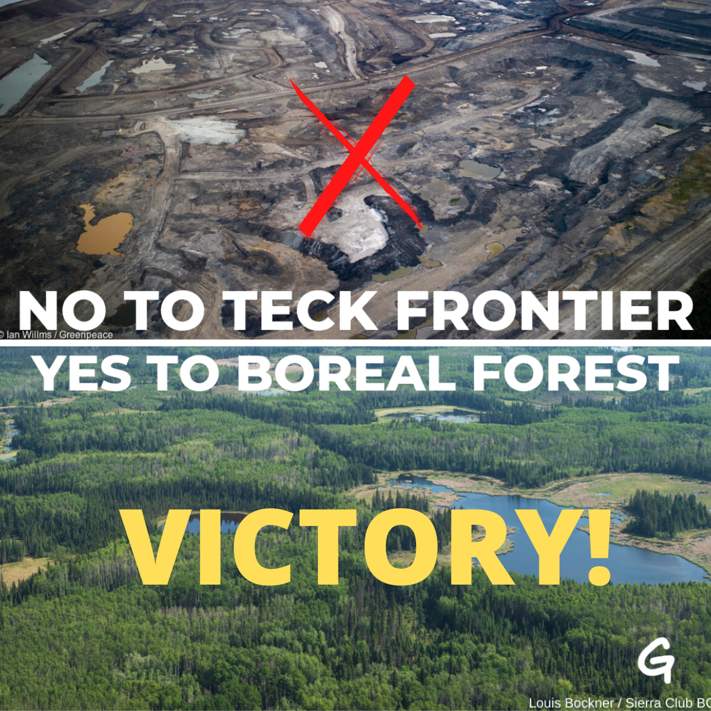 Reject Teck campaign victory