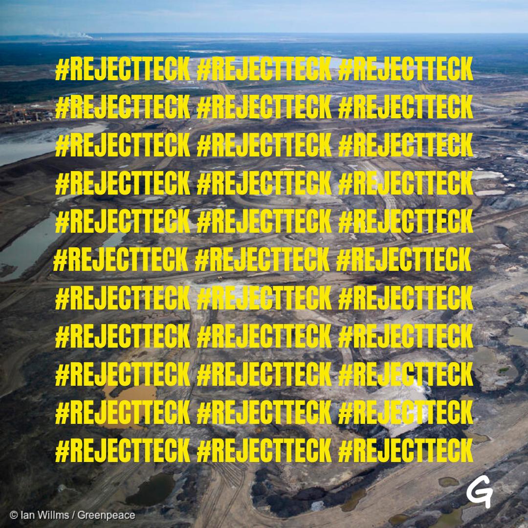 #RejectTeck