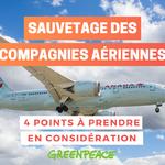 COVID-19: Voici quatre problèmes systémiques à garder à l'esprit lorsque vient le temps de renflouer une compagnie aérienne avec des aides publiques.