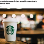 Starbucks should invest in a plastic-free future rather than forbid reusable cups