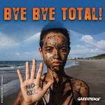 Réaction de Greenpeace sur la dépréciation de $7 Milliards de la compagnie pétrolière Total des sables bitumineux et leur retrait de l'ACPP