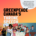 Greenpeace Canada's Speech from the Throne