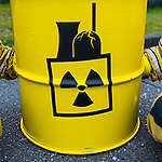 Protest against Nuclear Fuel Rods from Germany. © Chris Grodotzki / Greenpeace