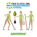 Festeja con Greenpeace el Día Global del Voluntariado Juvenil