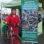 Cicletada por el Planeta en Concepción