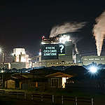 Greenpeace illuminates polluting coal plant with giant digital projections, calls for its immediate closure