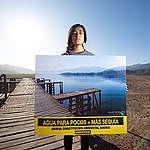 En desaparecida laguna de Aculeo proponen que nueva Constitución tenga sello medioambiental: Greenpeace ilustra la grave emergencia climática en Chile