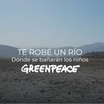 """""""Te robé un río"""": En el Día del Amor Greenpeace lanza canción para denunciar la crisis hídrica."""