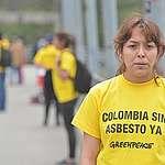 """""""No vamos a parar hasta que el asbesto esté prohibido por ley en toda Colombia"""""""