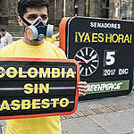 """Greenpeace: """"Colombia debe seguir el ejemplo de los países que ya prohibieron el asbesto"""""""