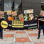 """Greenpeace propone ideas para el """"supermercado ideal"""": sin plásticos de uso único y con venta a granel"""