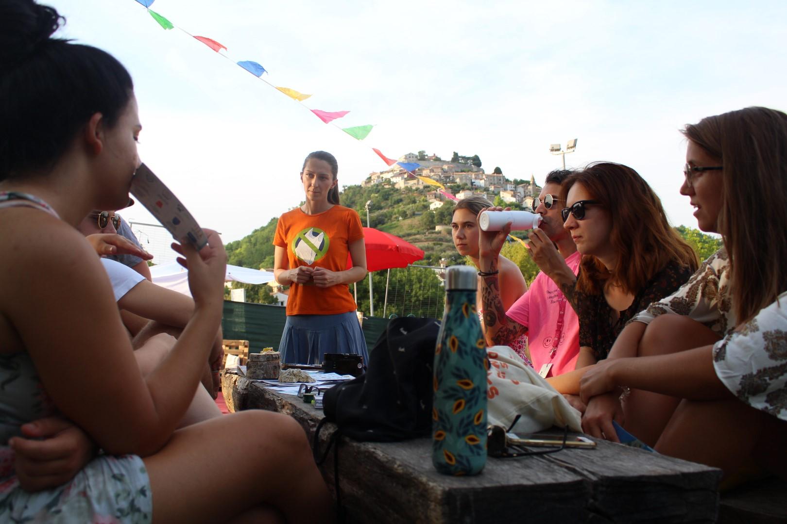 Prezentacija Greenpeacea na Motovun Film Festivalu