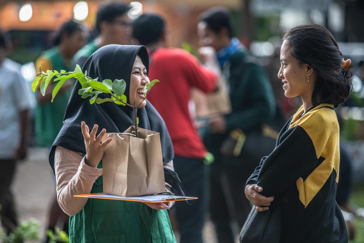 International Day of Forests in Jakarta. © Jurnasyanto Sukarno / Greenpeace