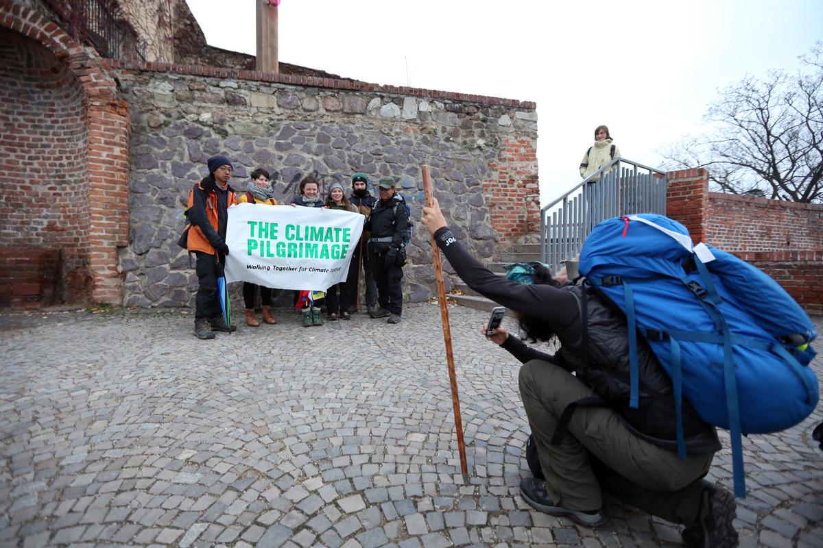 Klimatičtí poutníci v Brně
