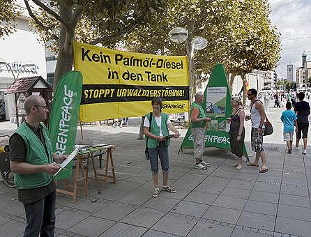 Protest proti palmovému oleji