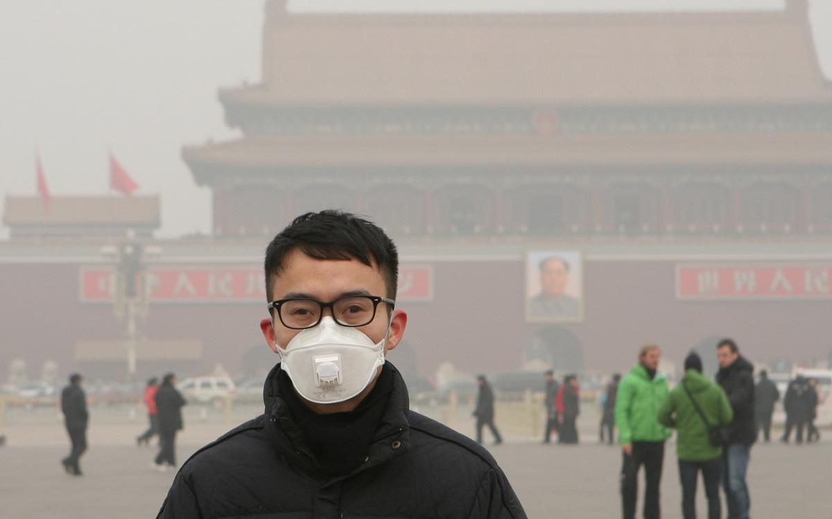 Air Pollution in Beijing. © Yin Kuang