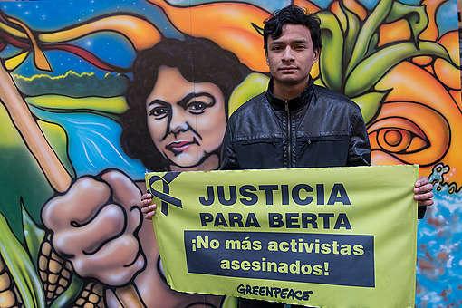 Salvador Zuniga Caceres. © Martin Katz / Greenpeace