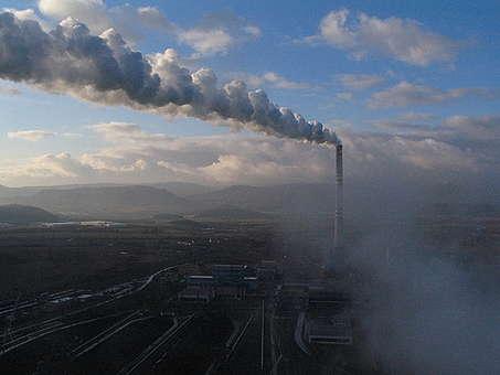 Prunerov Power Station in Czech Republic. © Greenpeace / Kate Davison