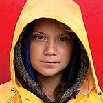 Portrait of Activist Greta Thunberg. © Anders Hellberg