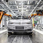 Interior Shots from the Volkswagen Plant in Zwickau. © Paul Langrock / Greenpeace