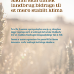 Udspil til regeringen: Sådan skal dansk landbrug bidrage til et mere stabilt klima