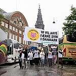 """Derfor skal vi have færre svin i Danmark – tale fra demonstration mod """"grønt"""" topmøde"""
