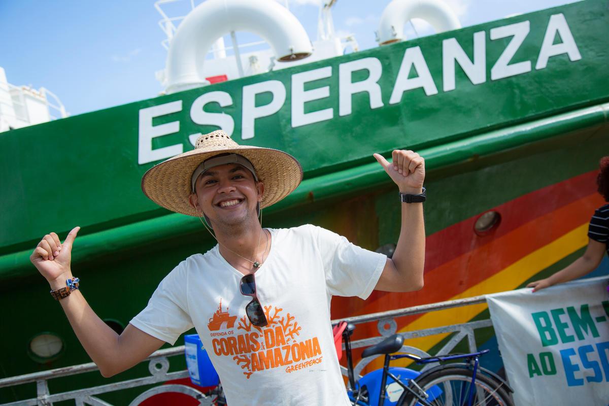 My Esperanza Open Boat 2018 in Brazil. © Marlon Marinho