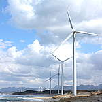 11 Windmills along Shimane Coastline in Japan. © Masaki Takahashi