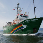 Kom om bord på Arctic Sunrise i weekenden