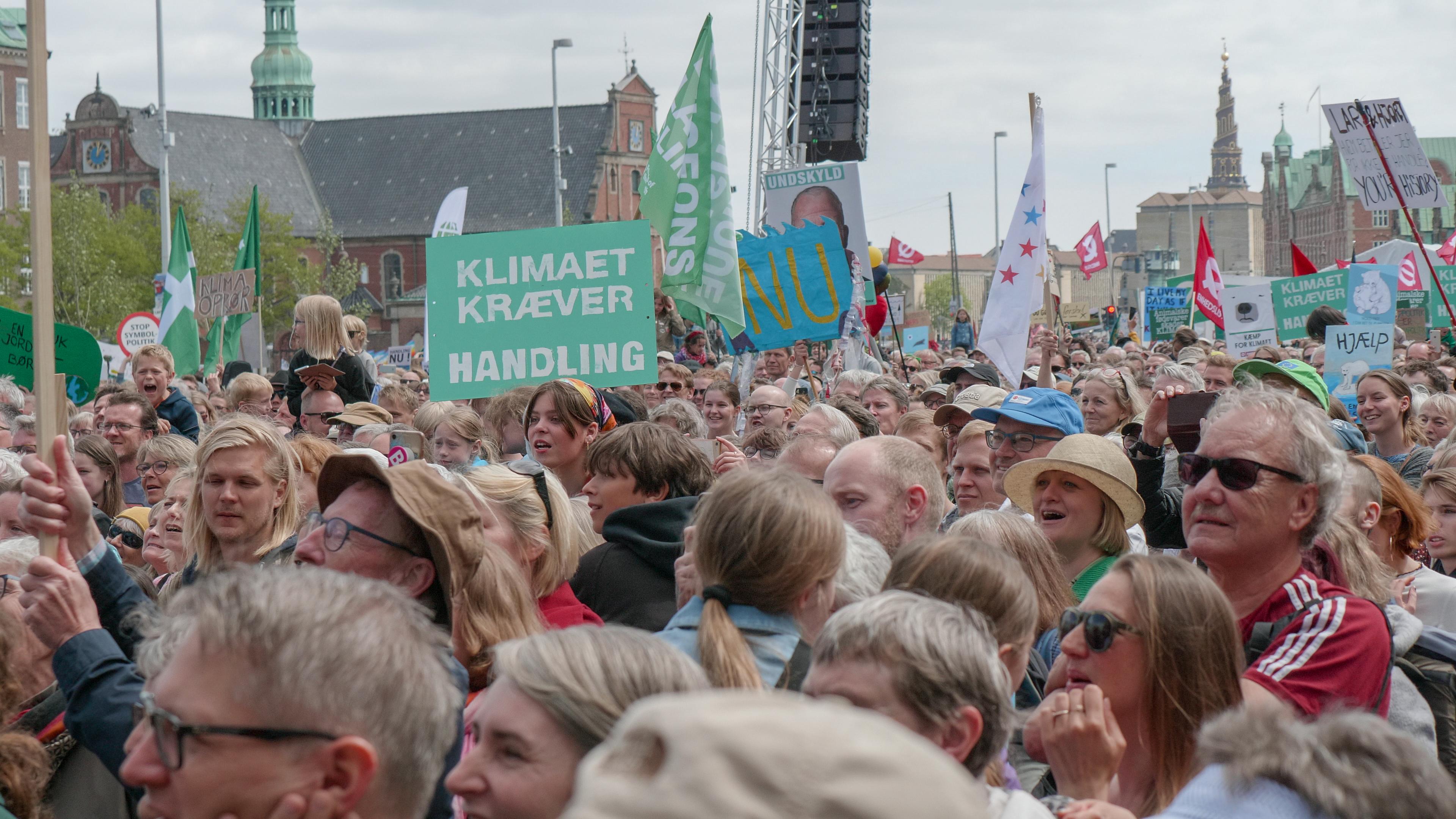 Klimademonstration i København