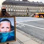 Greenpeace afslørede statsministerportræt under Folketingets åbning